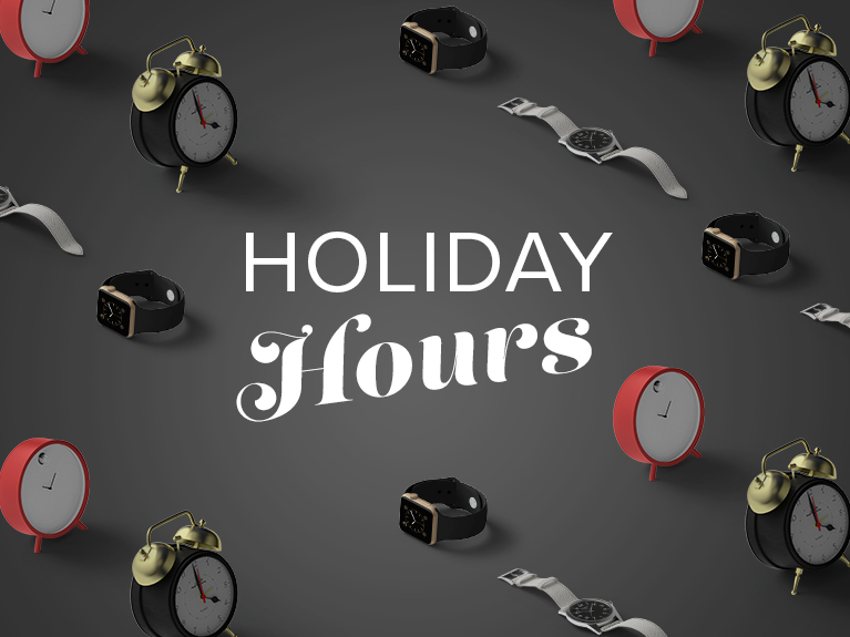 Thanksgiving and Black Friday hours